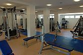 Sala fitness - hotel di wellness a Budapest - Holiday Beach