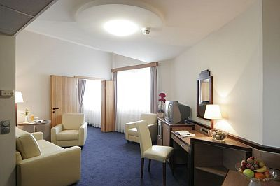 Albergo a 4 stelle - hotel Mercure Budapest - Mercure City Center Budapest - suite